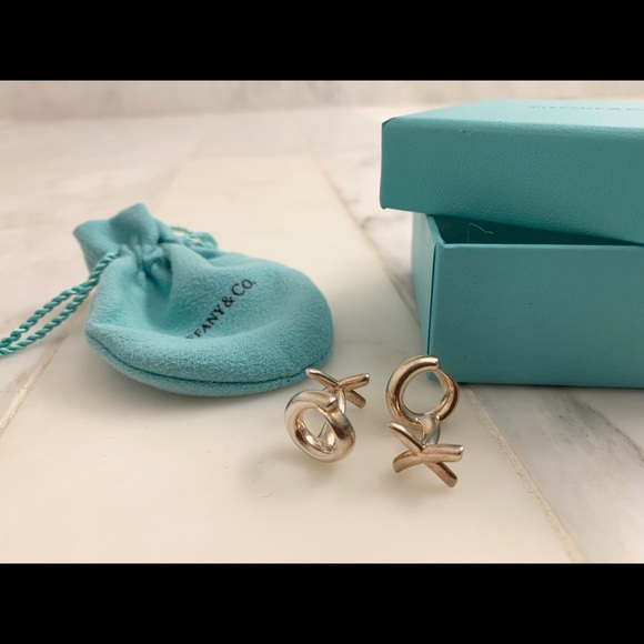 Tiffany & Co. Other - Tiffany's Sterling Paloma Picasso XO cufflinks